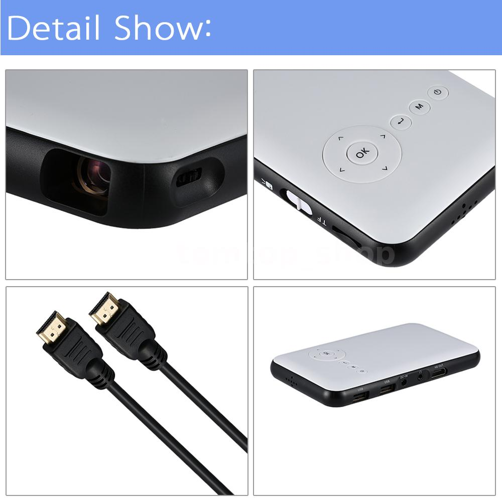 Wireless mini wifi bluetooth dlp multimedia projector for Wireless mini projector